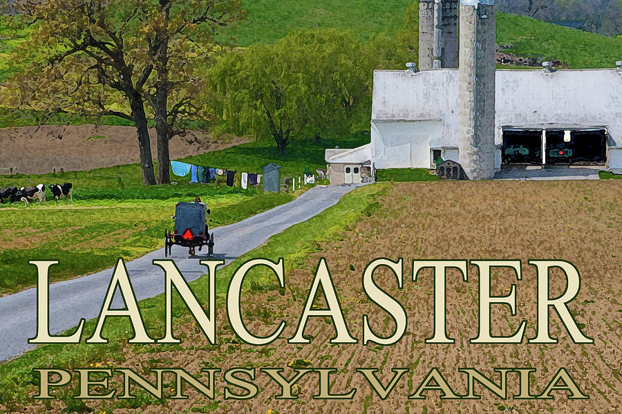 Lancaster Pennsylvania by Barry Wills