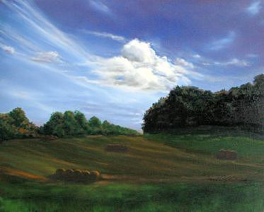 Pennsylvania Landscape Painting - Land For Sale-chester County-pennsylvania by Jeanie Chadwick