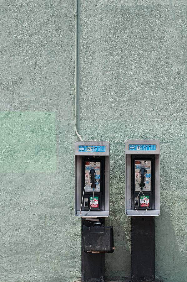 Green Photograph - Land Line by Dan Holm
