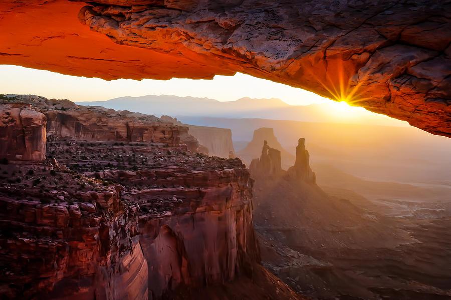 Mesa Photograph - Land Of Dreams by John Fan