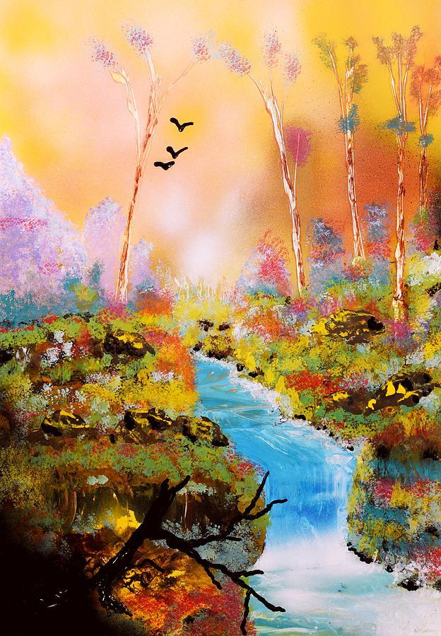 Fantasy Painting - Land Of Oz by Nandor Molnar