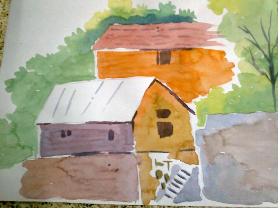 Landscape Painting - Landcsape by Suresh  Kumaar