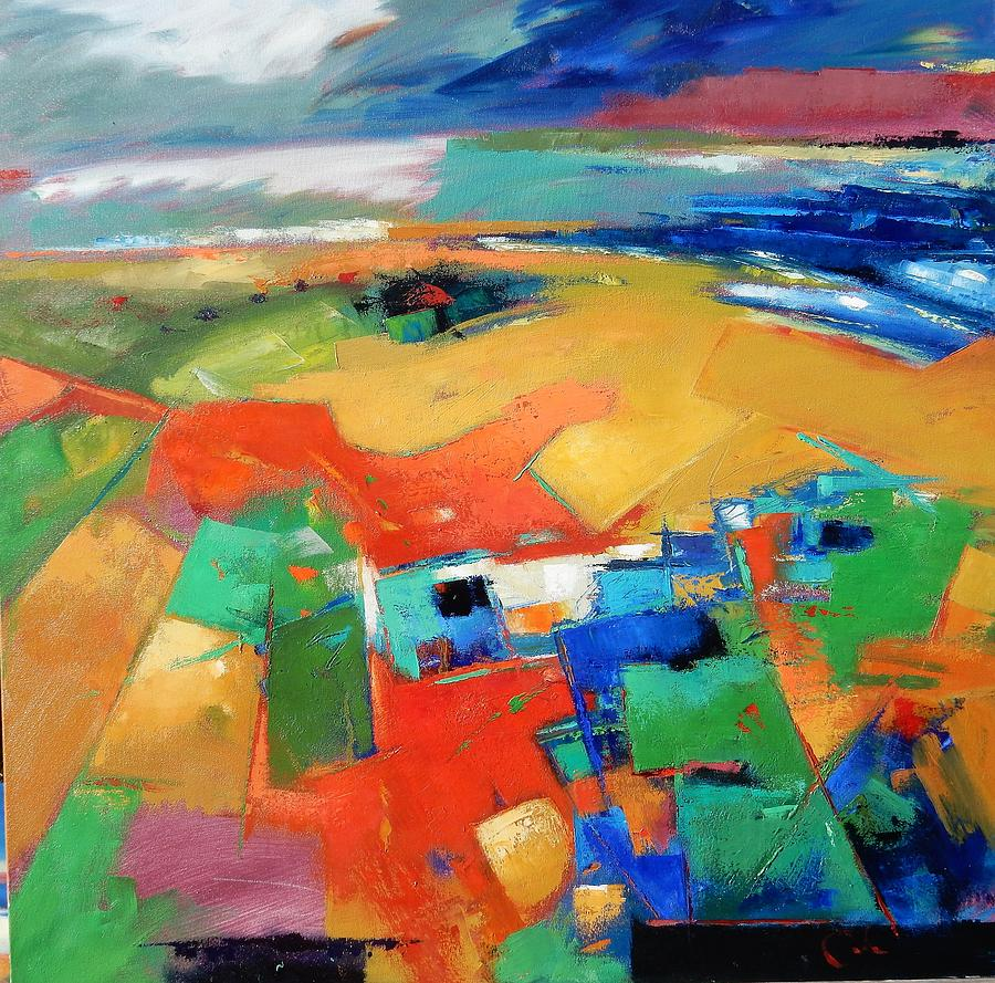 Landforms, Suggestion Of A Memory Painting