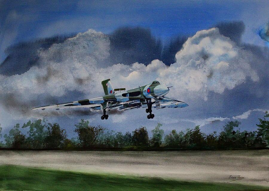 Landing in the dusk by Steve Jones