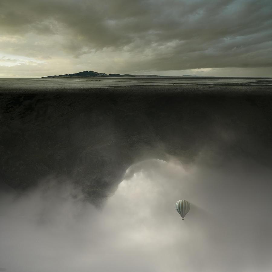 Desert Photograph - Landmass by Michal Karcz