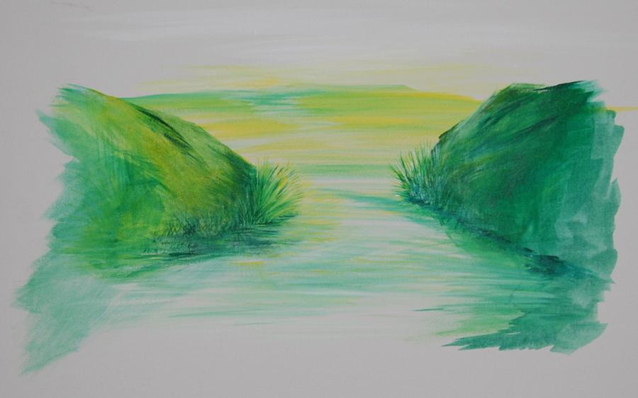 Landscape Painting - Landscape 1 by Amy Stewart Hale