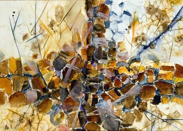 Landscape Painting - Landscape 1 by Osman Kilciler
