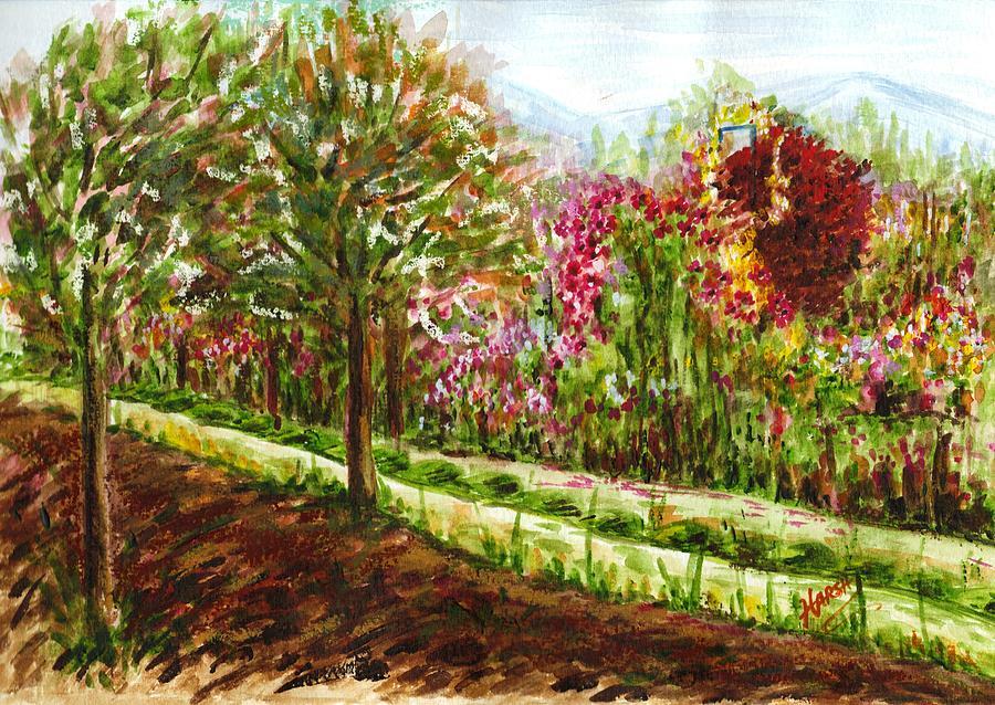 Landscape Painting - Landscape 2 by Harsh Malik