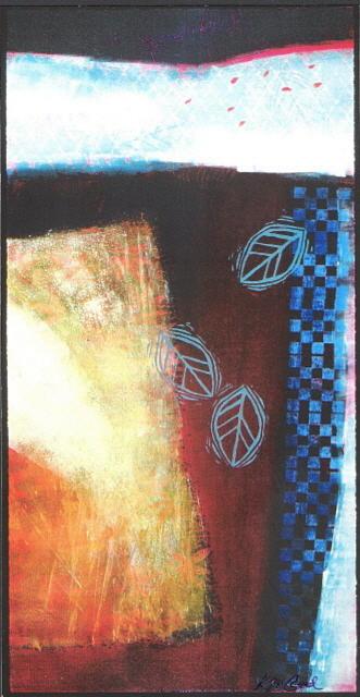 Landscape Painting - Landscape 2 by Kat Naquin
