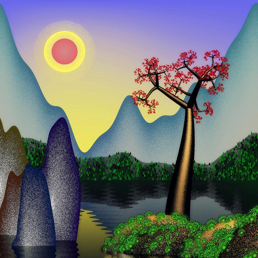 Landscape 3 Digital Art