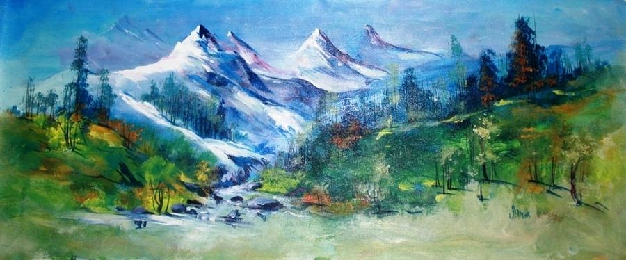 Paintings Painting - Landscape 323 by Sir