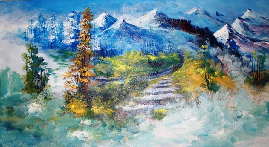 Paintings Painting - Landscape 324 by Sir