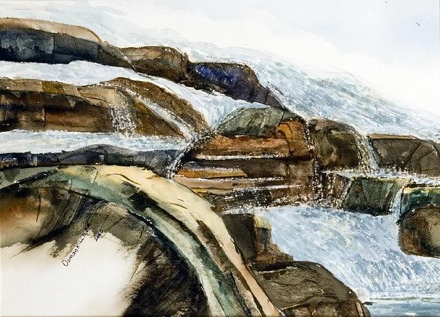 Landscape Painting - Landscape 8 by Osman Kilciler