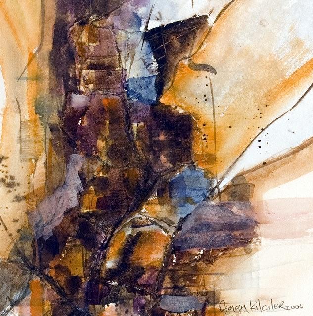 Landscape Painting - Landscape 9 by Osman Kilciler