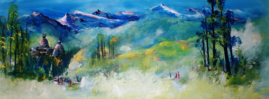 Paintings Painting - Landscape 999 by Sir