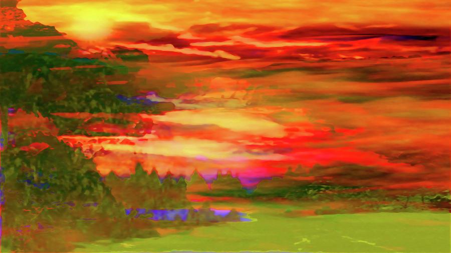 Landscape Abstract-enchantment Photograph