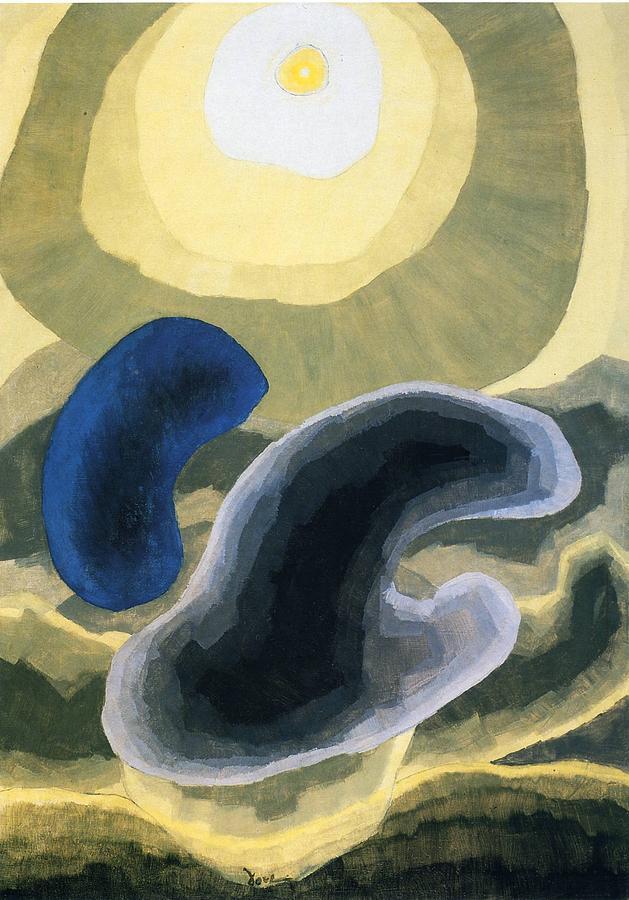 Landscape Painting - Landscape by Arthur Garfield