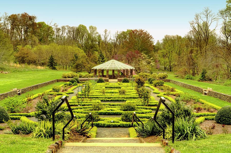 Landscape At Deep Cut Gardens Middletown New Jersey Photograph