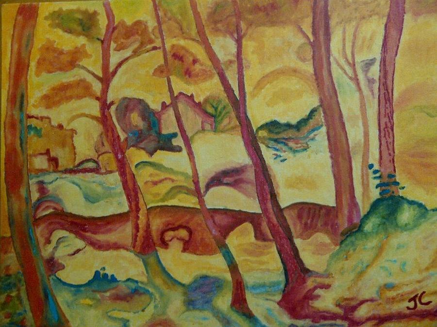22c7ca1dc3 Landscape At La Ciotat. My version of Georges Braque ...
