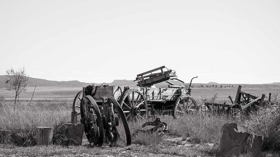 Wagon Photograph - Landscape Galisteo Nm A10d by Otri Park