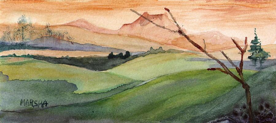 Landscape I by Marsha Woods