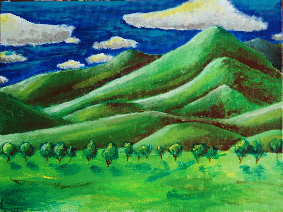 Landscape Painting by Mikey Milliken