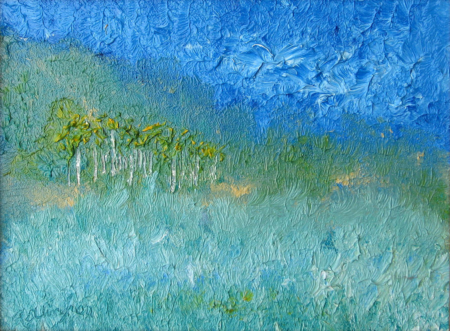 Landscape Painting - Landscape One by Rodger Ellingson