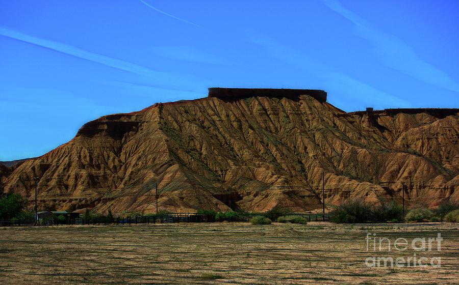 Valley Of Fire Photograph - Landscape Scenery Valley Of Fire  by Chuck Kuhn