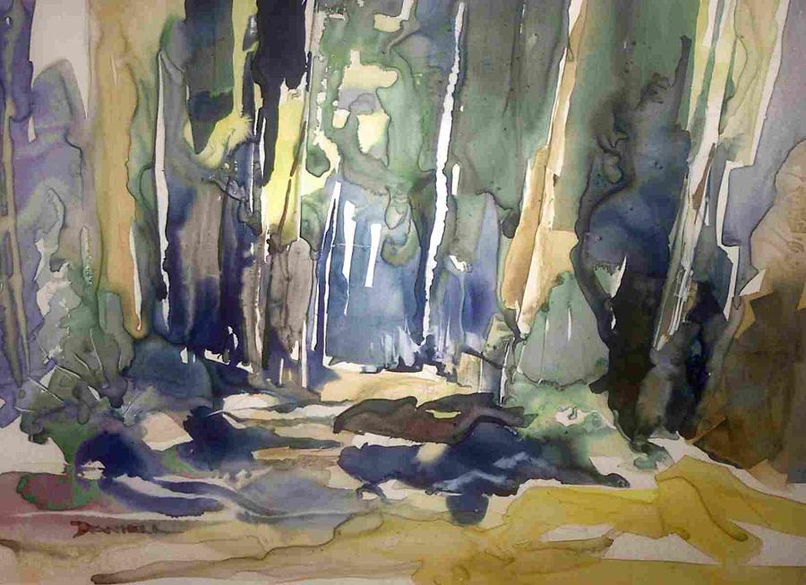 Landscape Painting - Landscape Study II by Frank Daniell