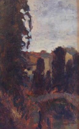 Vilage Painting - Landscape by Turbazzi