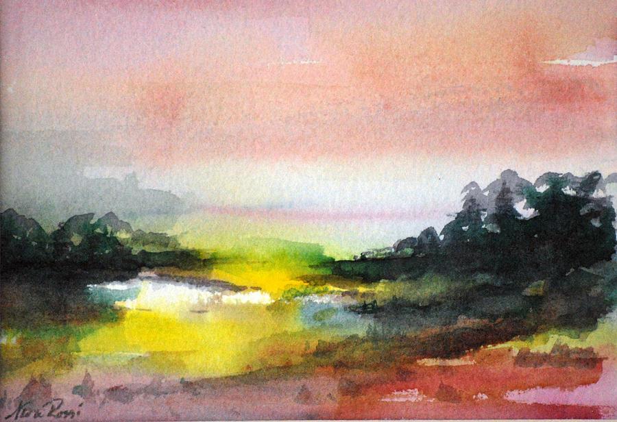 Landscape Painting - Landscape Vi by Neva Rossi