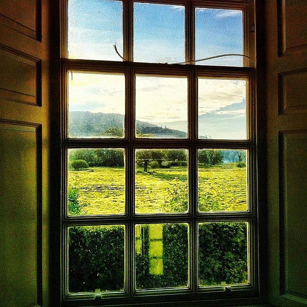 Beautiful Photograph - #landscape #window #beautiful #trees by Samuel Gunnell