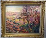Impressionist Landscape Painting - Landscape With Trees by Armand GUILLAUMIN