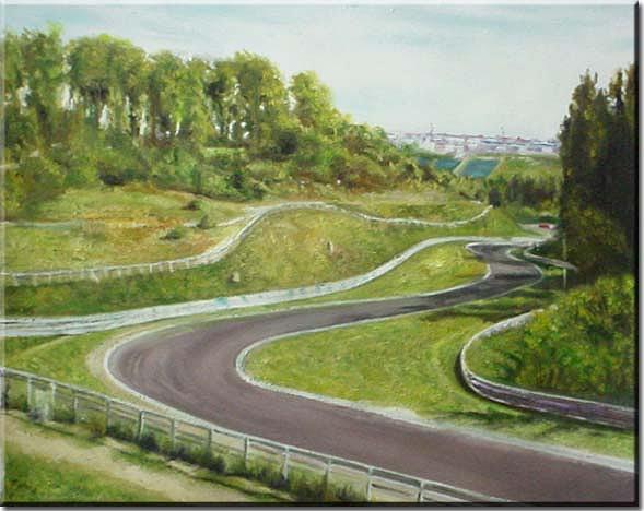 Landscape Painting - Landscape by Yvonne Yu