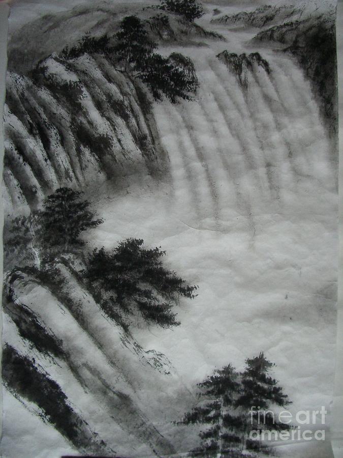 Landscape Painting - Landscape10 by Jian Hua Li
