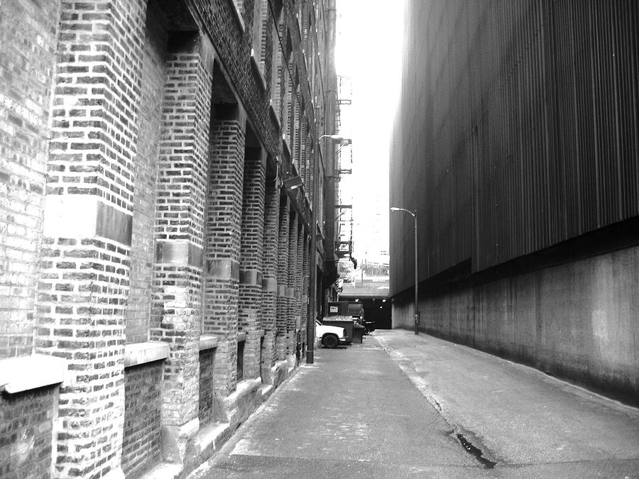 Alley Photograph - Lanes Of Chicago by Amit Banerji