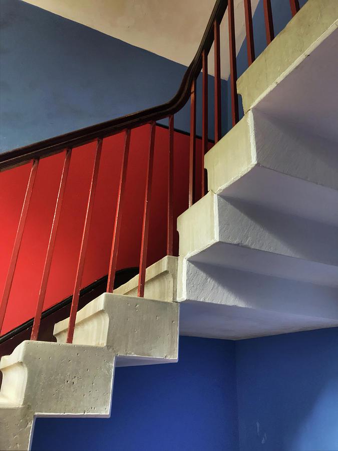 Lanhydrock Stairs by Pat Moore