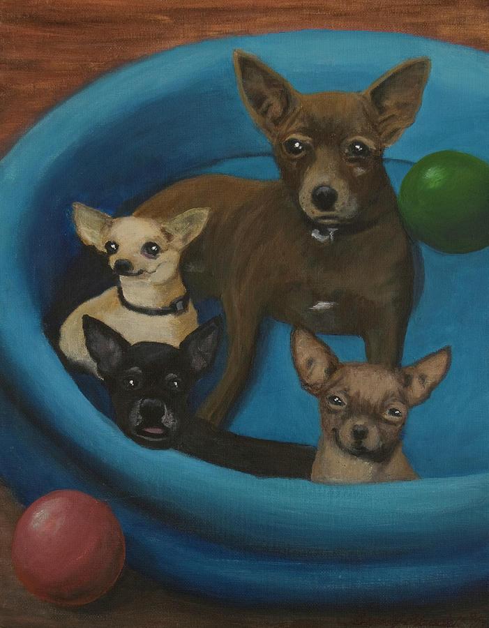 Lanice's Dogs by Barbara J Blaisdell