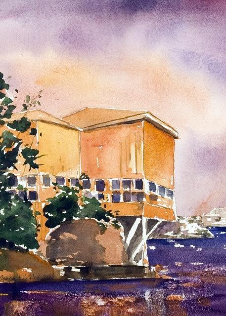 Lanscape Painting - Lanscape 4 by Osman Kilciler