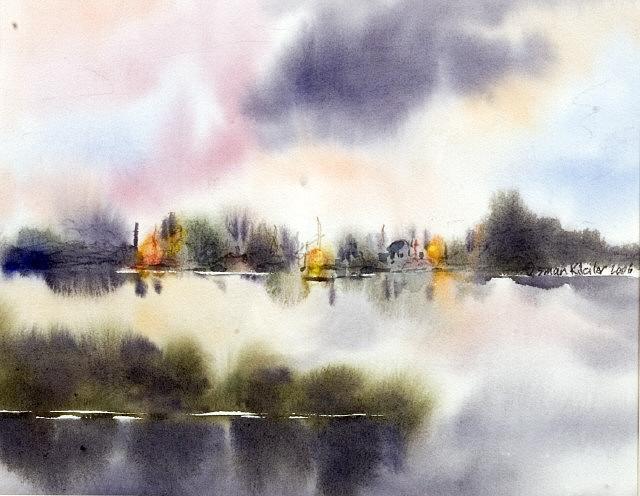 Lanscape Painting - Lanscape 5 by Osman Kilciler