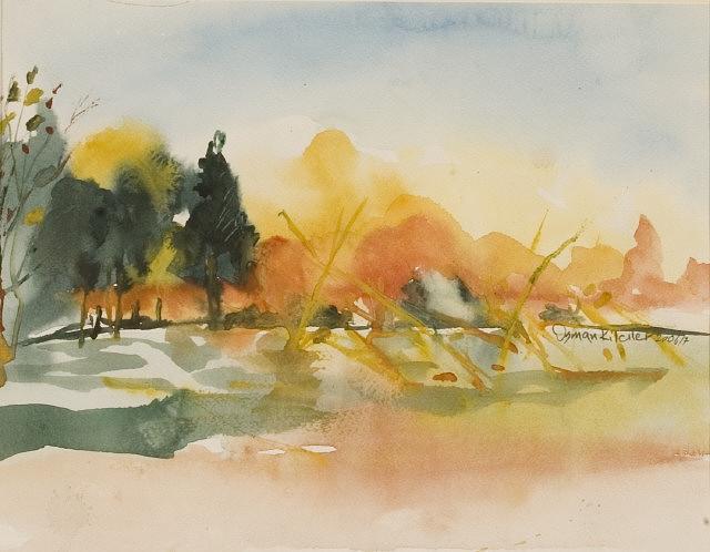 Lanscape Painting - Lanscape 6 by Osman Kilciler