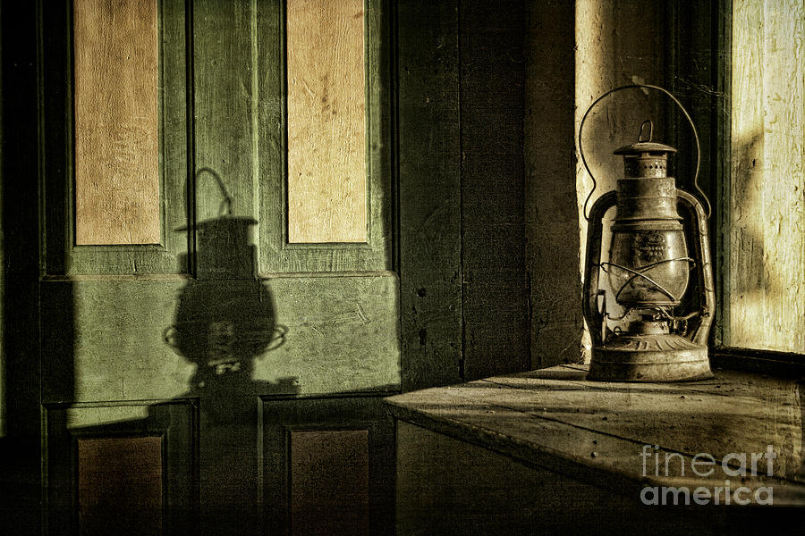 Lantern Photograph - Lantern Shadow by Sari Sauls