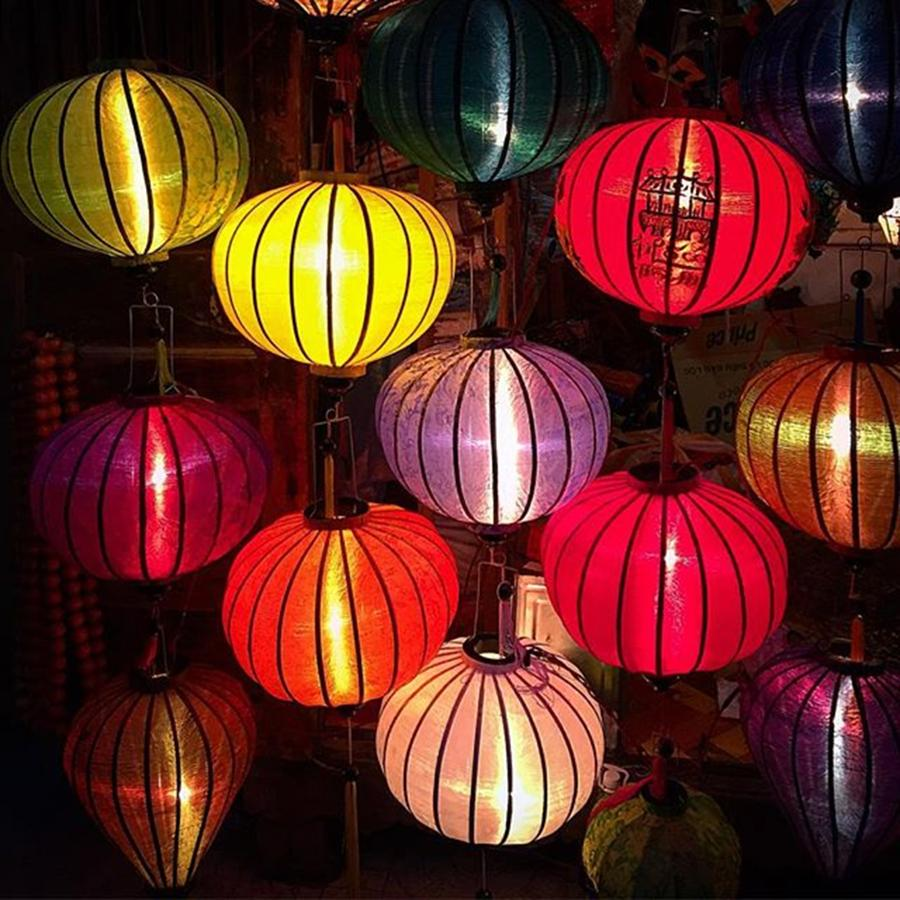 Beautiful Photograph - Lantern Shop In Hoi An Vietnam by Paul Dal Sasso