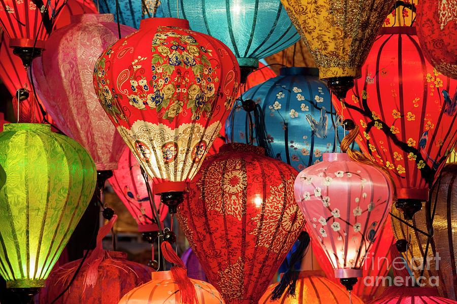Hoi An Photograph - Lanterns by Timm Chapman