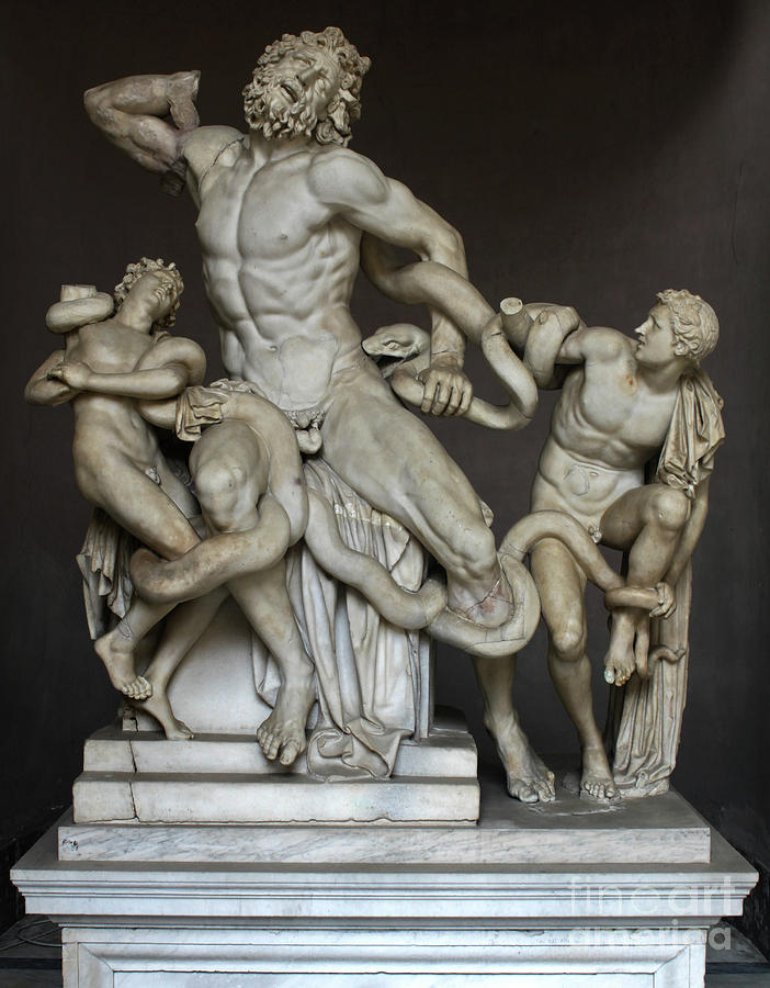 Laocoon and His Sons at the Vatican by Gregory Dyer