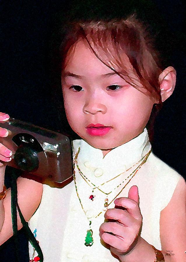 Laotian Princess Digital Art