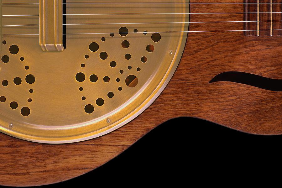 Guitar Photograph - Lap Guitar I by Mike McGlothlen