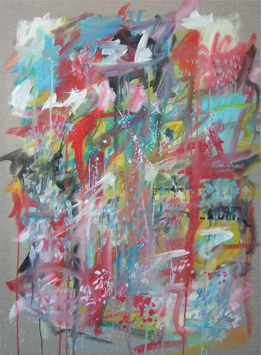 Abstract Painting - Large Abstract No 3 by Michael Henderson