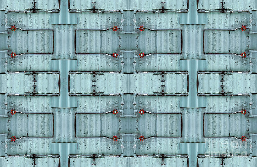 large abstract photography - Plumbing Gone Wild by Sharon Hudson