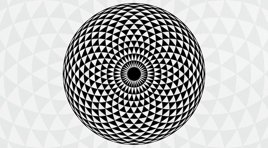 Large Mandala Art Print
